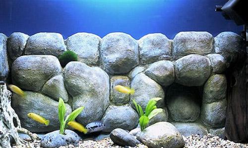 аквариумный фон своими руками
